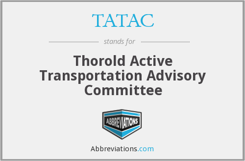 What does TATAC stand for?