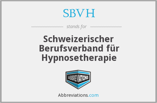 What does SBVH stand for?