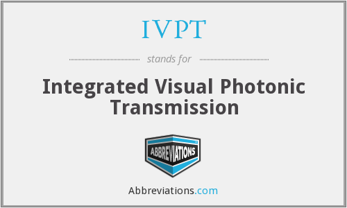 What does IVPT stand for?