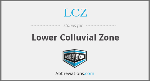What does LCZ stand for?