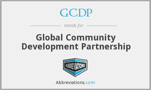 What does GCDP stand for?