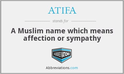 What does ATIFA stand for?