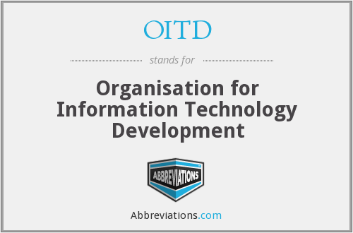 What does OITD stand for?