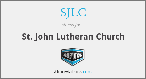 What does SJLC stand for?