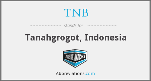What does TNB stand for?
