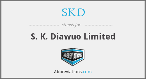 What does SKD stand for?