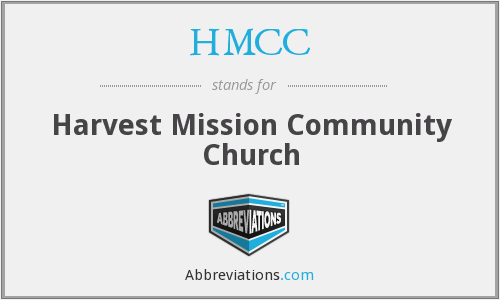 What does HMCC stand for?