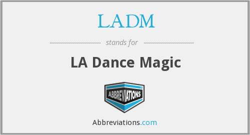 What does LADM stand for?