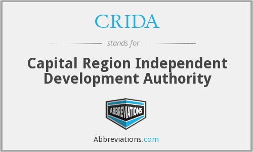What does CRIDA stand for?