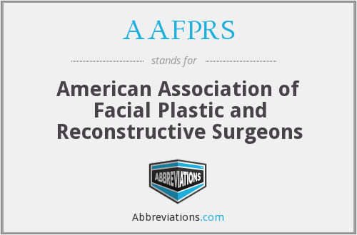 What does AAFPRS stand for?