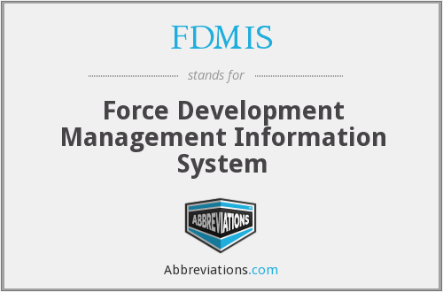 What does FDMIS stand for?