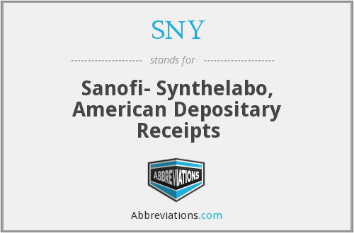 What does SNY stand for?
