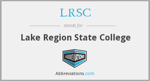 What does LRSC stand for?