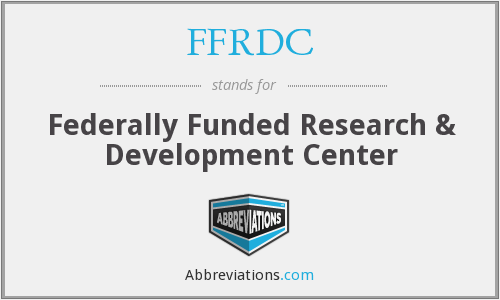 What does FFRDC stand for?