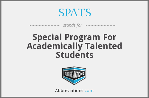 What does SPATS stand for?