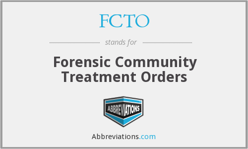 What does FCTO stand for?