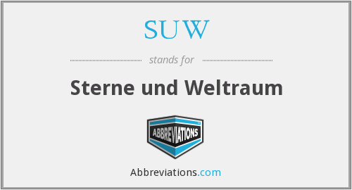 What does SUW stand for?