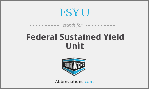 What does FSYU stand for?