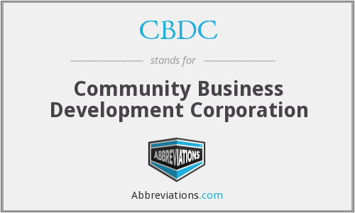 What does CBDC stand for?