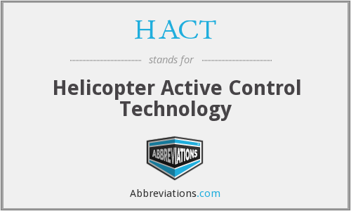 What does HACT stand for?