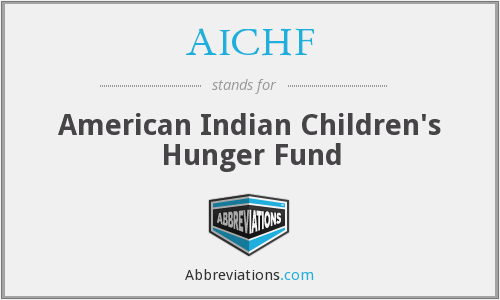 What does AICHF stand for?
