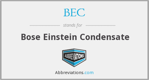 What does B.EC stand for?