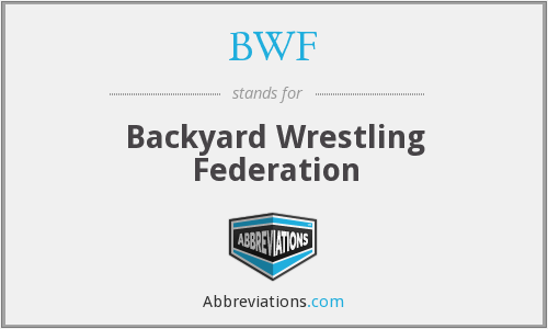 What does BWF stand for?