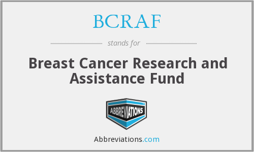 What does BCRAF stand for?