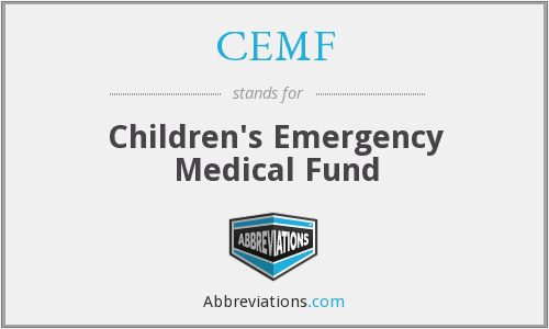 What does CEMF stand for?