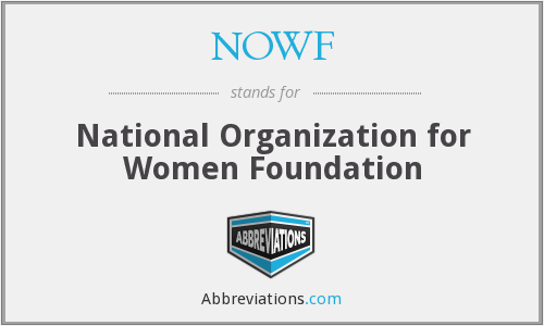 What does NOWF stand for?