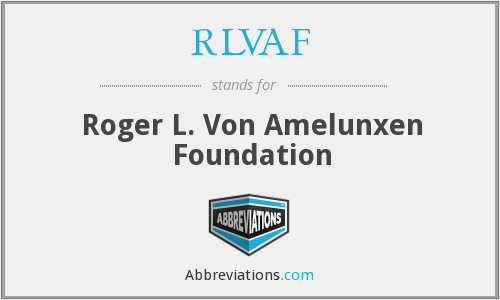 What does RLVAF stand for?