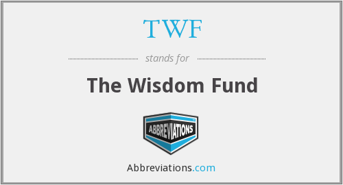 What does TWF stand for?