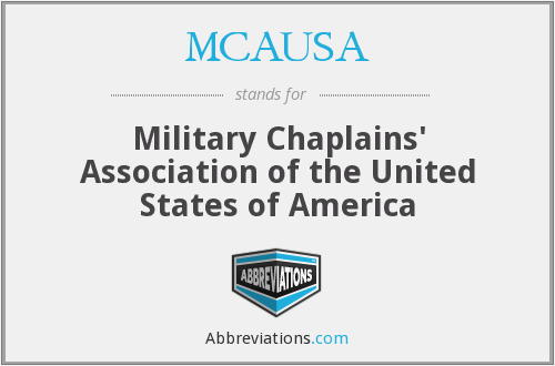 What does MCAUSA stand for?