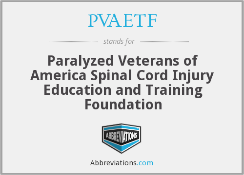 What does PVAETF stand for?