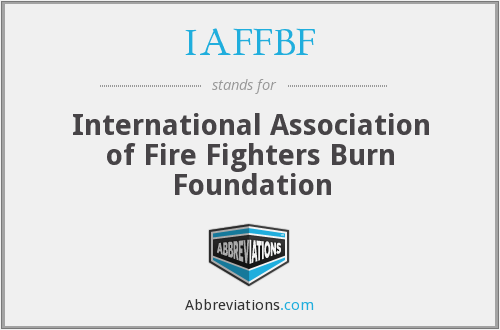 What does IAFFBF stand for?