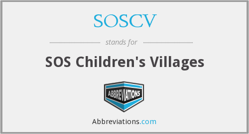 What does SOSCV stand for?
