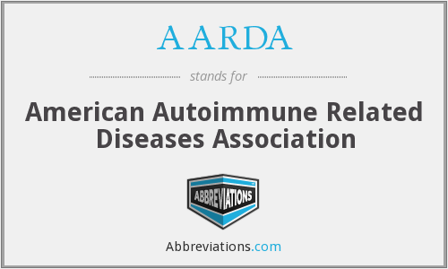 What does AARDA stand for?