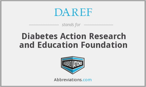 What does DAREF stand for?