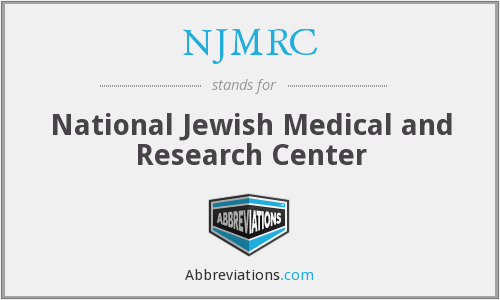 What does NJMRC stand for?