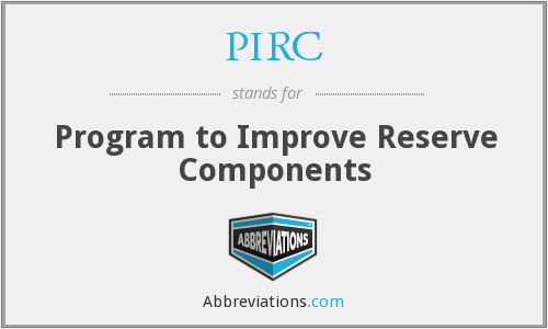 What does PIRC stand for?