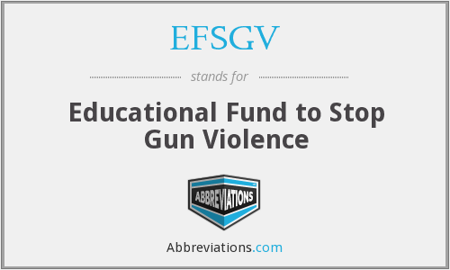 What does EFSGV stand for?