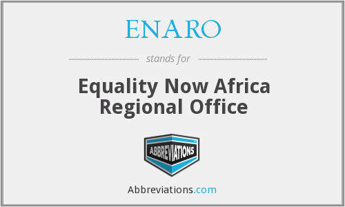 What does ENARO stand for?