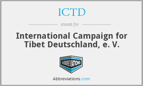 What does ICTD stand for?
