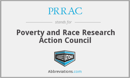 What does PRRAC stand for?