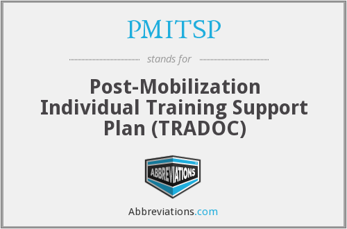 What does PMITSP stand for?