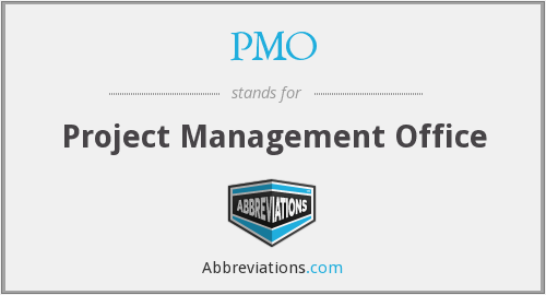 What does PMO stand for?