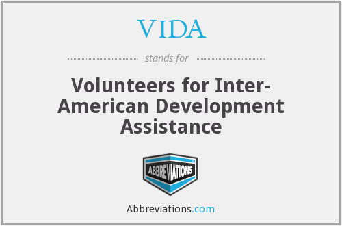 What does VIDA stand for?
