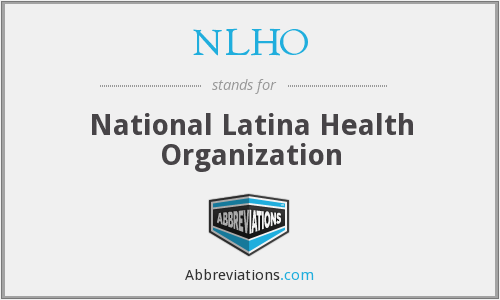 What does NLHO stand for?