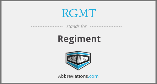 What does RGMT stand for?
