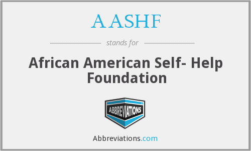 What does AASHF stand for?